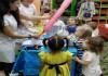 Детский день рождения в научном стиле